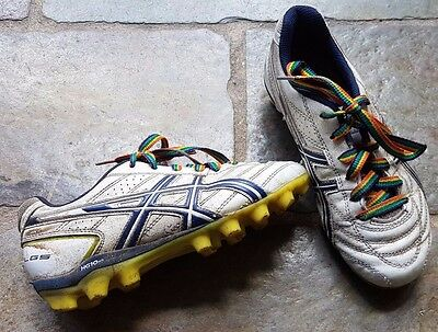 AFL Football Boots Footy Kids Size 2 (US) ASICS - USED