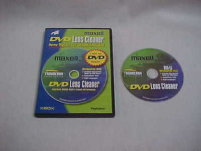 MAZELL DVD LENS CLEANER #190059 COMPLETE used