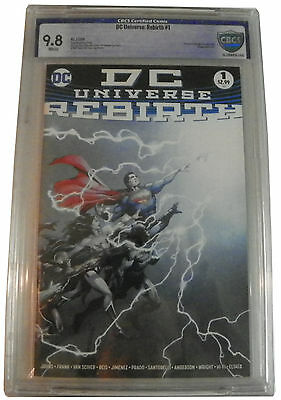 DC Universe Rebirth # 1 (2016) CBCS NOT CGC 9.8 First Print SOLD OUT !!!