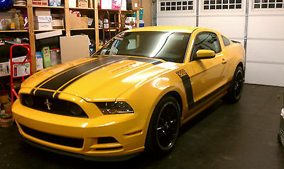2013 Ford Mustang  2013 Ford Mustang Boss 302 SBY #0011