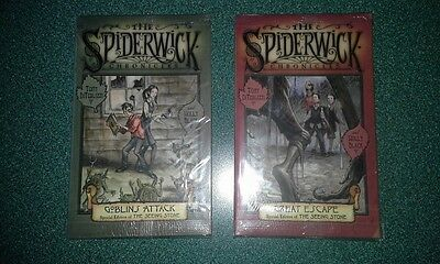 Kellogg Post General Mills Cereal 2 Spiderwick Chronicles Collectibles