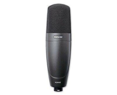 Shure KSM32/CG Cardioid Condenser Embossed Single-Diaphragm Mic Assembled in USA