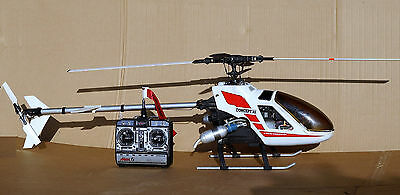 Vintage Kyosho Concept 30 SE R/C Nitro Model Helicopter in Good Condition , ARF