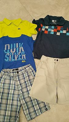 Boy's Size 6 Quicksilver Lot of 5