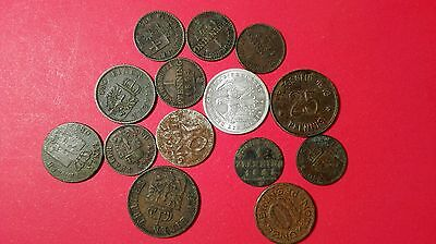 Germany and German states world coins lot most 1800s high value lot