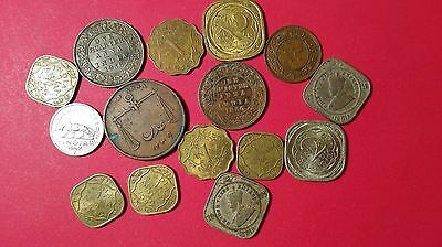 Indian old and new Anna world foreign coins lot high value lot