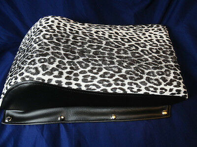 Vintage Kitty Cat Seat Cover LEOPARD REPRODUCTION COVER,ARCTIC CAT 1972 TO 1979