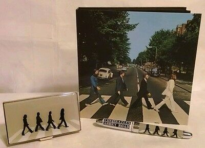 The Beatles *Limited Edition* ACME Studios Abbey Road Pen & Card Case BRAND NEW