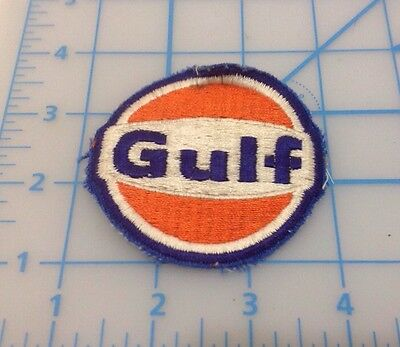 Gulf Oil Embroidered Patch Vintage