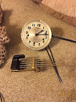 Antique Newhaven Westminster Chime Banjo Clock Movement & Strike Lot A-30