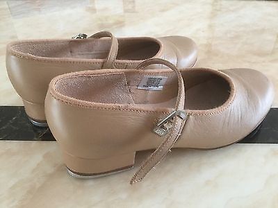 Nearly New BLOCH TAP ON GIRLS TAP SHOE Size 4 1/2