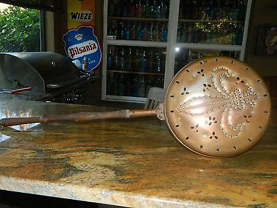 French Copper Bed Pan//Antique//Vintage