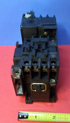 General Electric Contactor CR4CA with Overload Relay CR4 G1 WG   {349]
