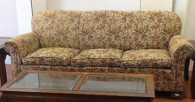 Sofa - Antique - Floral Pattern CWA2076 Local Pickup or Send Your Shipper