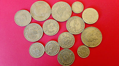 Iran world foreign coins great condition high value lot