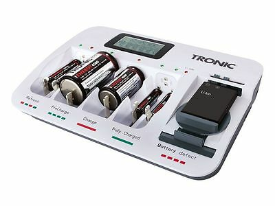 TRONIC Universal Charger-Mobile Charger-Usb output 1000mA-Rechargeable Batteries