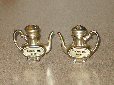 Vintage Souvenir Salt & Pepper Shakers LOOKOUT MT. TENNESSEE  AWESOME