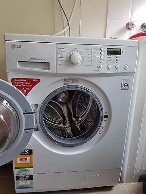 LG 7Kg Front Load Washing Machine WD11020D - Direct Drive