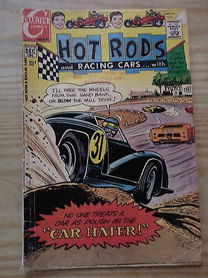 Charlton HOT RODS AND RACING CARS Dec 1970 #105 - 15 cent Comic