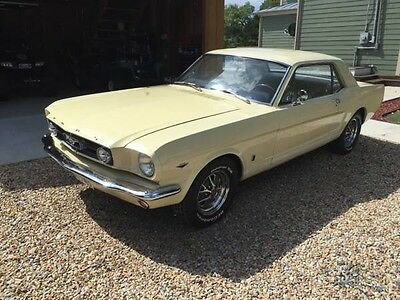 1966 Mustang Coupe V8 four speed and GT equipment