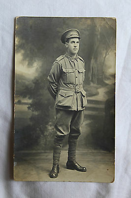 WW1 AIF Australian photo / postcard / ephemera Portrait Sydney