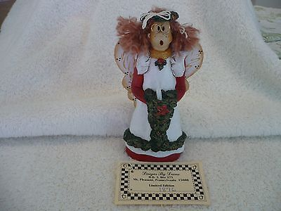 Christmas Angel Holding Candle