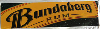 Large Bundaberg Perspex Sign. Perfect For Collector Or To Put In Bar