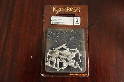 Lord Of The Rings Orc Tracers New Games Workshop metal