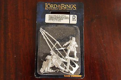 Lord Of The Rings Men At Arms Of Dol Amroth New Games Workshop metal