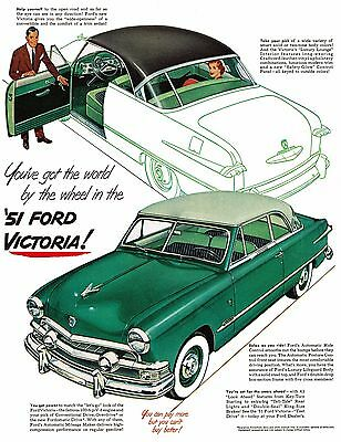 FORD VICTORIA Poster [Various Sizes] VINTAGE POSTER A