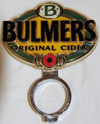 Collectible Bulmers Original Cider Single Sided Metal Tap Top ...........ref1
