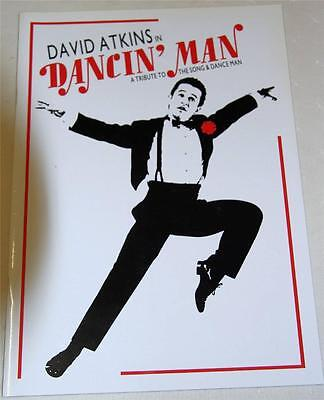 David Atkins In Dancin' Man Souvenir Theatre Program - Excellent