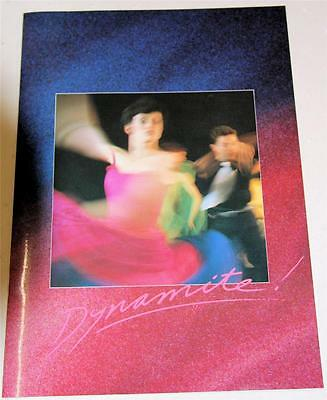 Dynamite 1990 World Premiere Souvenir Theatre Program - Excellent