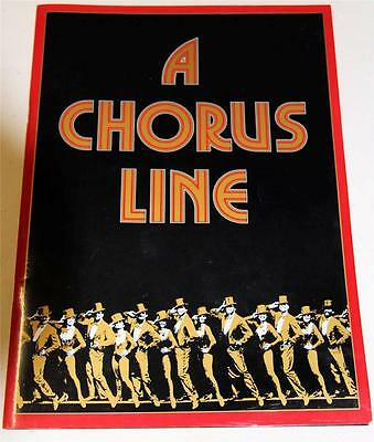 Queensland Performing Arts A Chorus Line Souvenir Theatre Program - Excellent