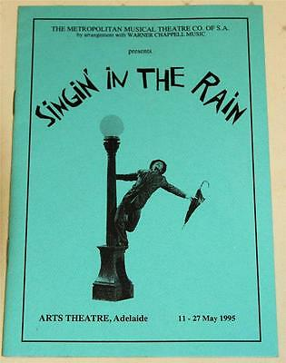 Singin' In The Rain 1995 Souvenir Theatre Program - Excellent