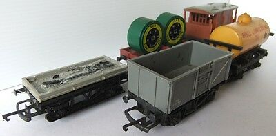 HORNBY TRI-ANG RAILWAYS set of various wagons x 5