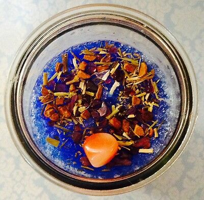 Evil Eye Banish Baneful Intentions Spiritual Aura Cleansing Protection Candle