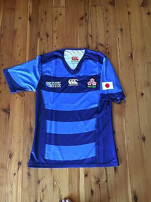 Bnwt Japan Away 2015 World Cup Rugby Union Jersey L