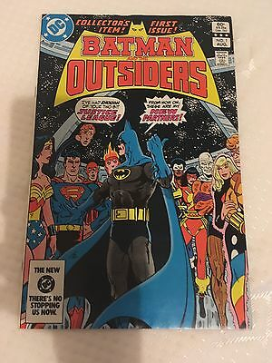 First Issue: Batman And The Outsiders Comic.