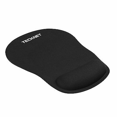 TeckNet Mouse Pad con Gel Tappetino per Mouse nero