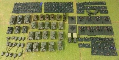 15mm PAINTED Russian Army WW2 suit Flames of War FOW