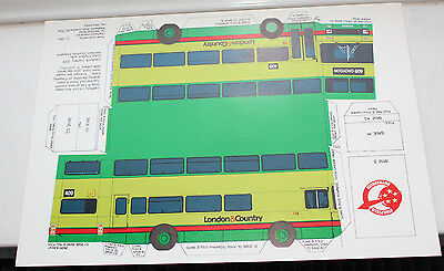 London & Country Cut Out Bus D10M on 409