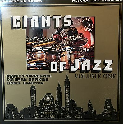 TURRENTINE HAWKINS & HAMPTON Giants Of Jazz Manhattan LP MAN5006