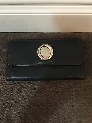 OROTON Black leather wallet.