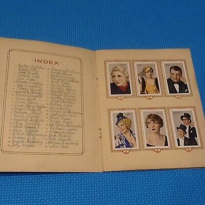 GALLAHER STARS of STAGE and SCREEN cigarette cards