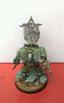 Warhammer 40k Forgeworld Chaos Space Marines Nurgle Dreadnought Hellbrute