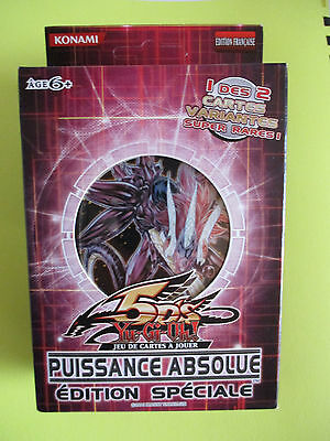 Yu Gi Ho Boite De  3 Booster Puissance Absolue /edition Speciale / Vf
