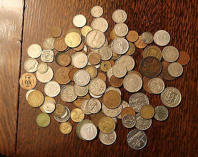 Old Foreign Coins - mixed bag
