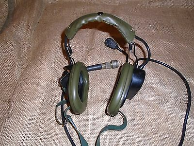 set of 3 x Clansman radio headsets, working