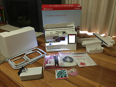 Husqvarna Viking Designer Ruby Sewing and Embroidery Machine